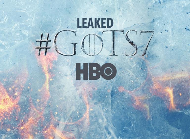Game of Thrones Season 7 leaked