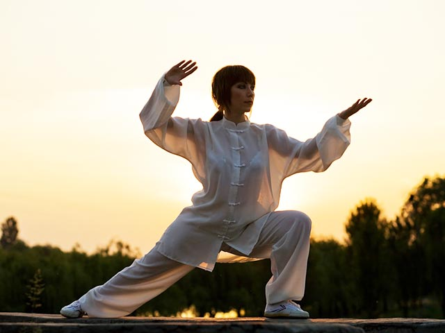 Tai Chi : A Rather Gentle Form Of Martial Art