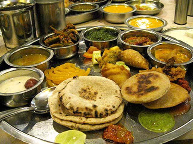 The Delicious And Colorful Gujarati Thali