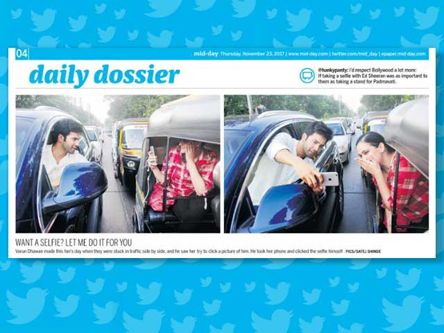 Varun Dhawan Apologises To Mumbai Police