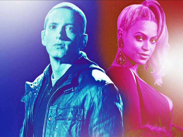 Eminem's Walk On Water Featuring Beyoncé Is Out Now, And It Sounds Amazing