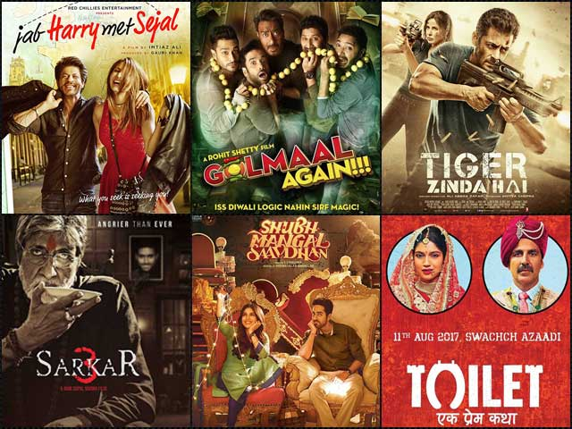 Hit And Flop Movies Of 2017: Bollywood's Box Office Report Card Of This Year Is Out!
