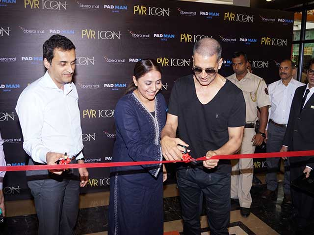 Akshay Kumar Launches New PVR ICON-2; Pictures Inside!