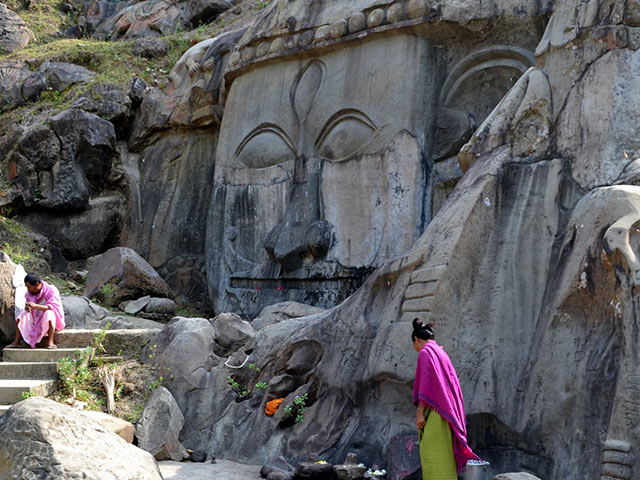 Have You Heard Of Unakoti? It Has Exactly One Less Than A Crore Shiva Stone Sculptures