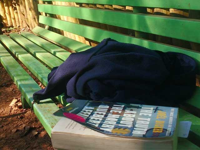 Old Uncle, School Boys, A Quiet Garden - On An Impulsive Walk Through Mahabaleshwar
