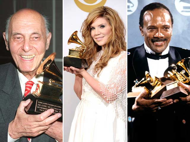 Artists with The Highest Number of Grammys