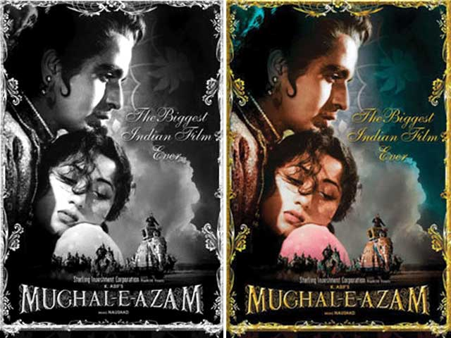 Black And White Bollywood Classics That Got A Colour Makeover!
