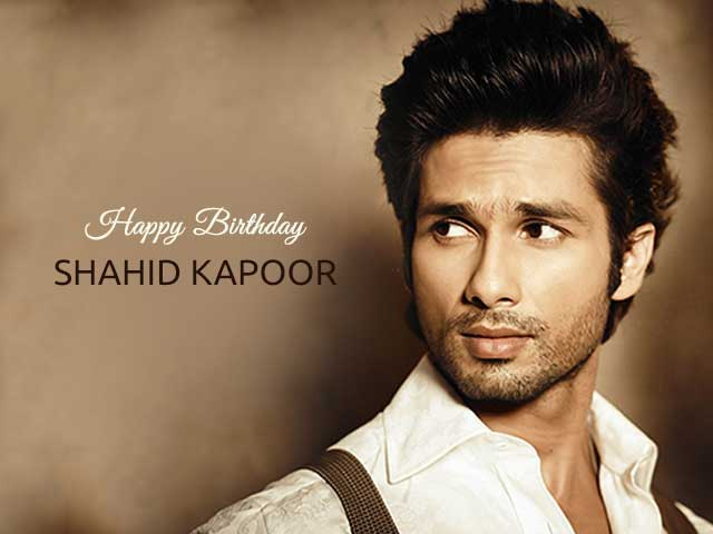 Shahid Kapoor Doesn't Want A Birthday Party This Year, Hear's Why