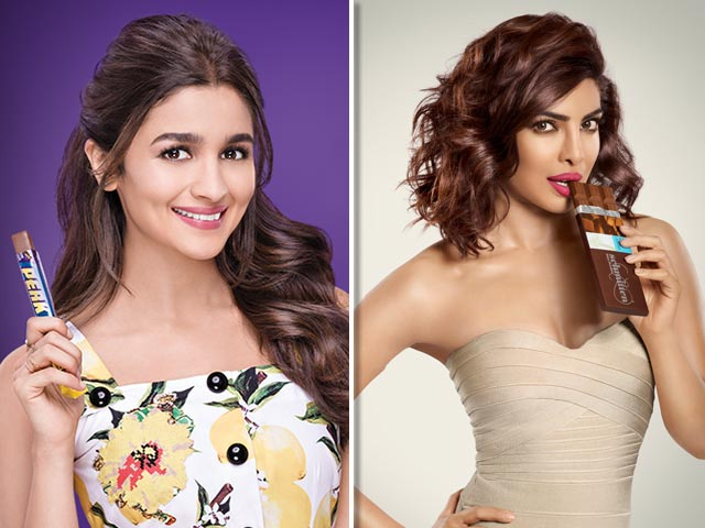 5 Bollywood Actresses who have Starred in our Favorite Chocolate Commercials