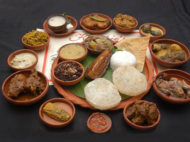 The Gourmet Bengali Thali