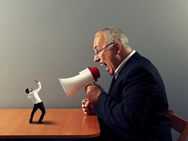 What To Do When Your Boss Screams At You In Front Of Other Colleagues