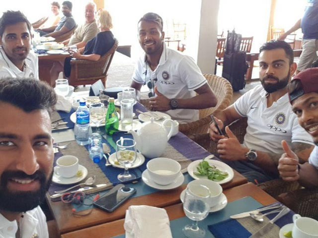 Sneak Peek Into Eating Habits Of Indian Cricket Team