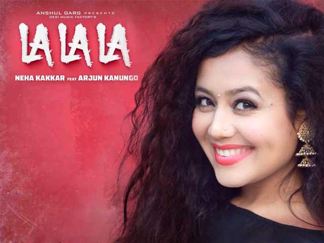 Have You Heard La La La The New Song By Neha Kakkar And Arjun Kanungo?