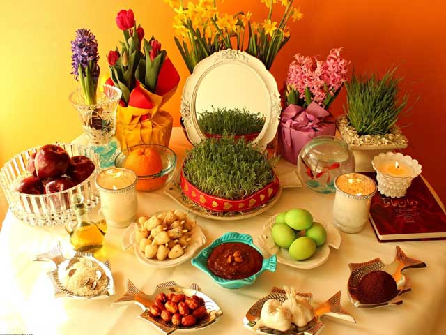 What Is The Significance Of The Seven Items On The Nowruz Table?