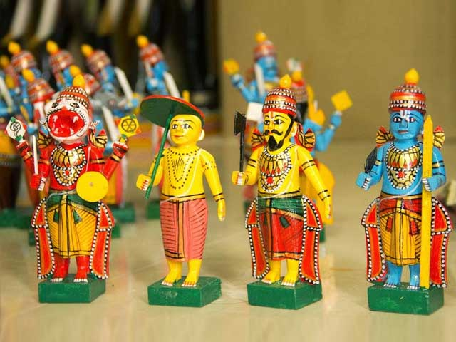 Did You Know Of This Toy Makers' Village In Andhra Pradesh?