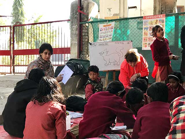 Richa Prasant Is Helping Children To Go To School In A Way None Imagined