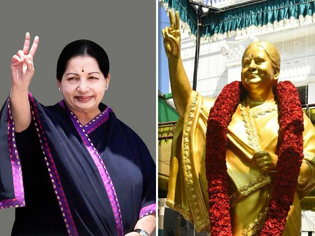 Jayalalitha Statue: Attempt to Glorify Or Ridicule