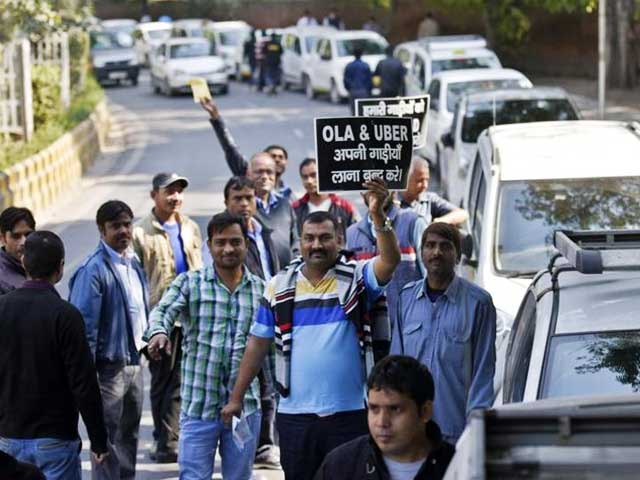 Did You See The Empty Roads Today, Thanks To The Ola Uber Strike?