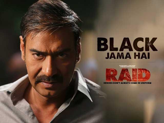 Black Jama Hai Song From Ajay Devgn's Raid Sets Up The Film's Story Beautifully