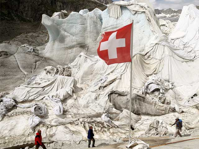 Guess What The Swiss Are Doing To Protect Their Glaciers?
