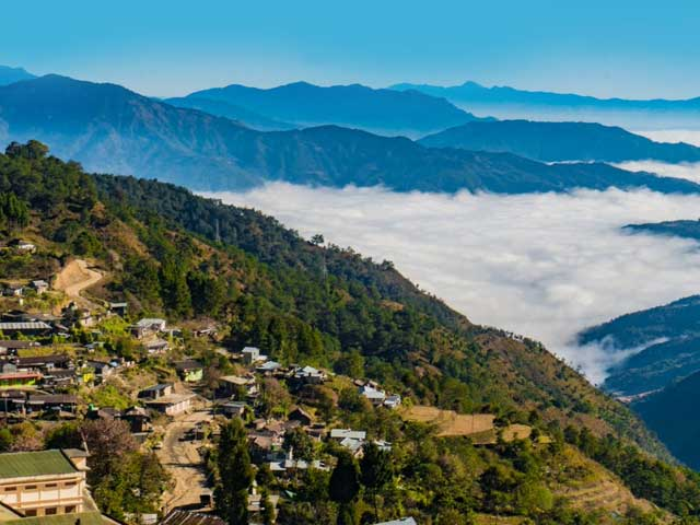 Try The Tribal Brewed Beer On Top Of The Coldest Mountain At Pfutsero In Nagaland