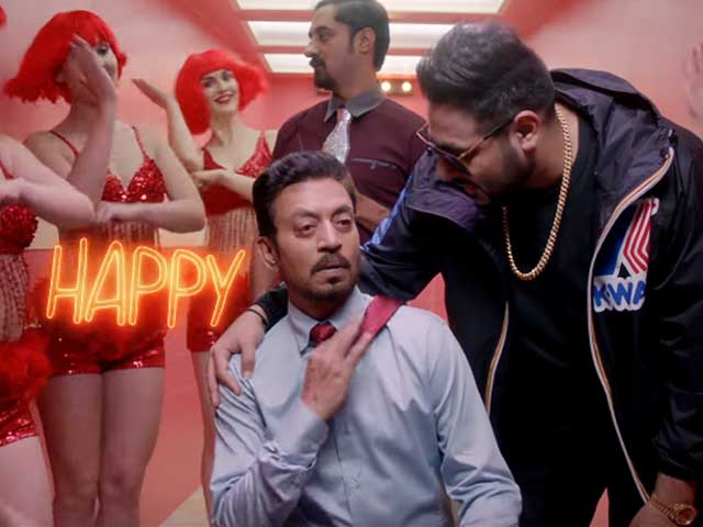Badshah's latest song is Happy Happy from Irrfan Khan's film Blackmail