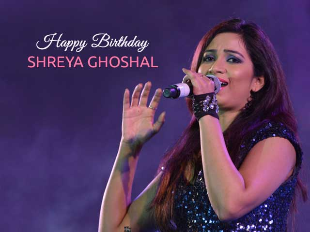 On Her Birthday, We Pick Some Of Shreya Ghoshal's Best Work In Recent Years