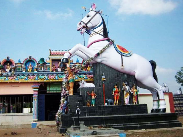 Asia's Biggest Horse Statue Worshipped In A Tamil Nadu Village