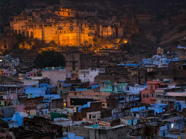 84 Pillared Hall, A Lake-Side Palace Of Happiness And Other Treasures Of Bundi