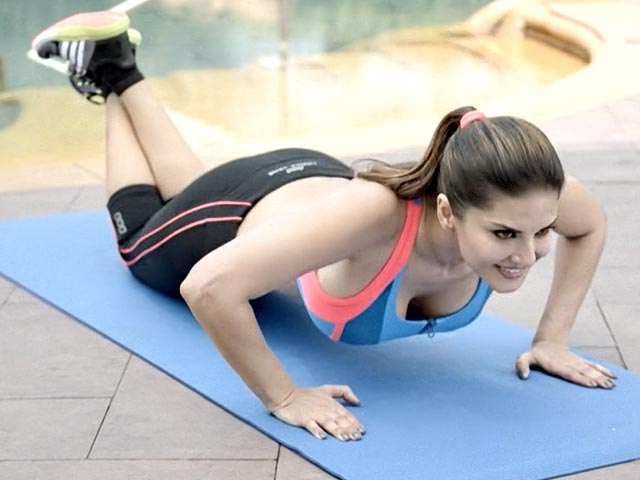 Why Is Sunny Leone The Latest Fitness Icon?