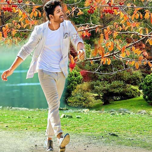 allu arjun plays the role of viraj anand who is the son of a rich