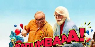 Big B And Rishi Kapoor Sing The Badumbaaa Song From 102 Not Out