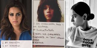 Does It Have Any Impact When Celebrities Hold Up Anti-Rape Placards?
