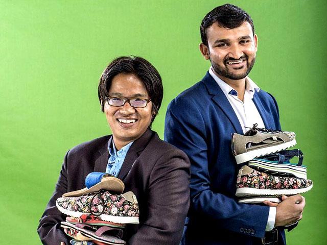 See How A Runaway Kid And A Well-To-Do Kid Made It To The Forbes Under-30 List With Discarded Shoes
