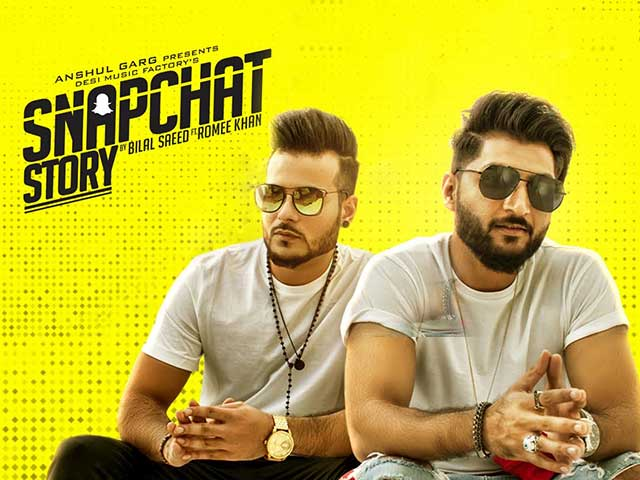 Snapchat Story Is The Latest From Bilal Saeed