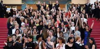82 Women Protest Against Gender Inequality At The Cannes Film Festival