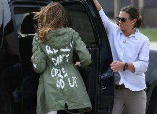 What Did Melanie Trump Mean By Her Jacket?