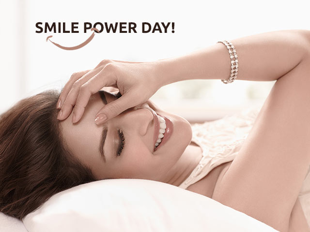 Smile More To Health, Its Smile Power Day!