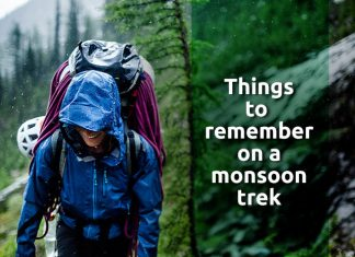 Five Crucial Things To Remember On A Monsoon Trek