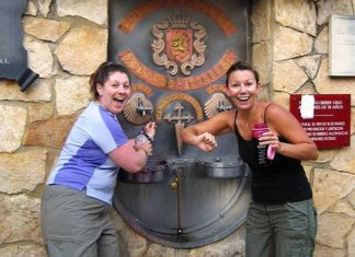 Fancy Some Wine From A Fountain In Spain And Italy For Free?
