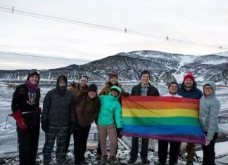 The Rainbow Colored Pride Flag Now To Flutter In Antarctica