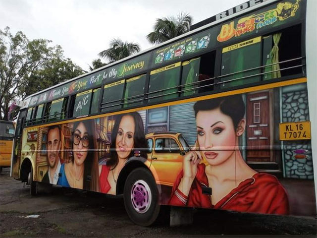 Kerala's First Adult Bus On The Loose - Porn Stars Doing The Rounds