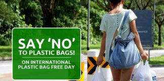 Yes To Health, No To Plastic On International Plastic Bag Free Day