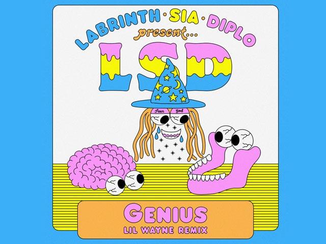 LSD Releases Lil Wayne Remix of Genius Along With A Trippy Music Video