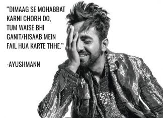 Ayushmann Khurrana's Shayari Is All You Need For Love Advise In 2019