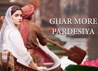 Ghar More Pardesiya Song From Kalank Is A Ramleela Recital By Madhuri And Alia