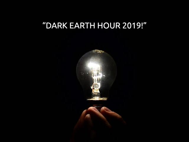 Celebrating 'Earth Hour' In A Different Way! How?