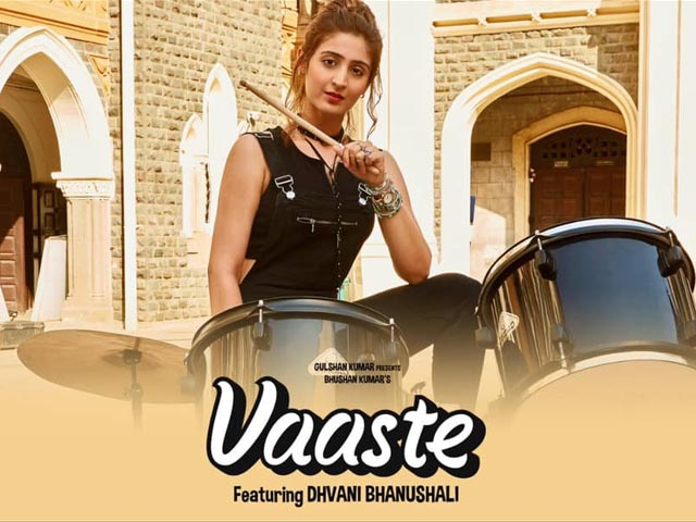 Vaaste By Dhvani Bhanushali - A Melodious Song Of Love