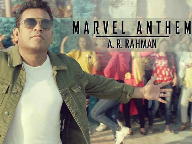 A.R. Rahman's Marvel Anthem Is Out, And It's Seriously Underwhelming