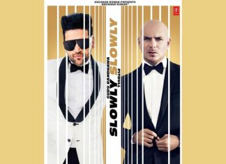 Singer Guru Randhawa And Pitbull Come Together Slowly Slowly